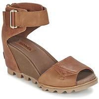 鞋子 女士 凉鞋 Sorel JOANIE SANDAL 棕色 / Rustique