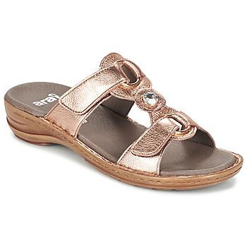 鞋子 女士 休闲凉拖/沙滩鞋 Ara AGLIMELLE 金色 / 玫瑰色