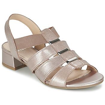 鞋子 女士 凉鞋 Caprice RIJOULE 玫瑰色 / 金属光泽