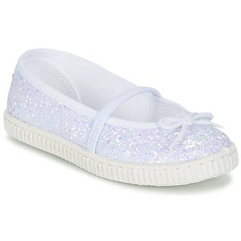 鞋子 女孩 平底鞋 Chipie SALSABA 金色 / 白色
