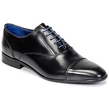 鞋子 男士 系带短筒靴 Azzaro 阿莎露 RAEL 黑色