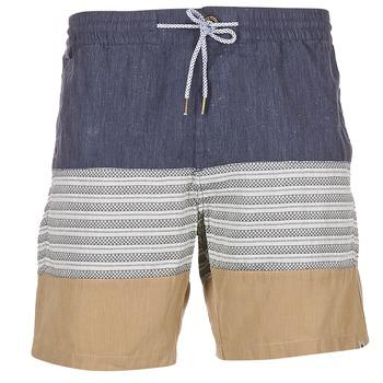 衣服 男士 短裤&百慕大短裤 Volcom THREEZY JAMMER 海蓝色 / 米色 / 灰色
