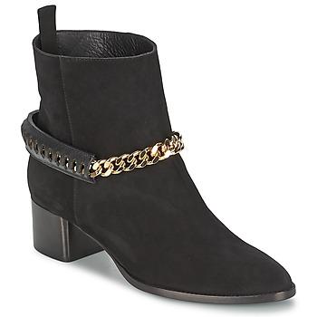 鞋子 女士 短靴 Roberto Cavalli 罗伯特·卡沃利 YPS542-PC519-05051 黑色