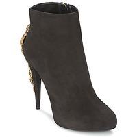 鞋子 女士 短靴 Roberto Cavalli 罗伯特·卡沃利 YPS564-PC001-05051 黑色