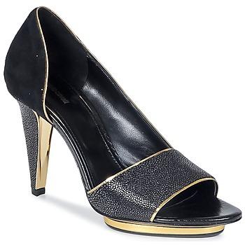 鞋子 女士 凉鞋 Roberto Cavalli 罗伯特·卡沃利 YDS637-UF013-05051 黑色