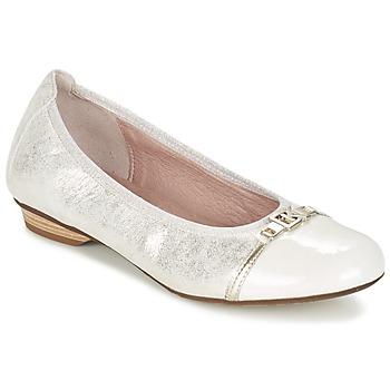 鞋子 女士 平底鞋 Dorking TELMA 银色 / 米色