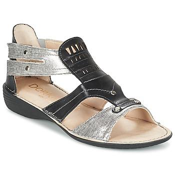 鞋子 女士 凉鞋 Dorking ODA 黑色 / 银色