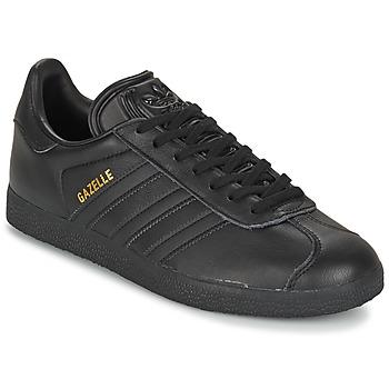 鞋子 球鞋基本款 阿迪达斯三叶草 GAZELLE 黑色