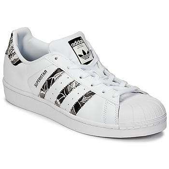 鞋子 女士 球鞋基本款 Adidas Originals 阿迪达斯三叶草 SUPERSTAR W 白色