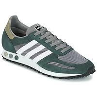 鞋子 男士 球鞋基本款 Adidas Originals 阿迪达斯三叶草 LA TRAINER OG 灰色