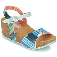 鞋子 女士 凉鞋 Desigual BIO 7 BLUE AQUARELLA 蓝色