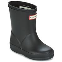 鞋子 儿童 雨靴 Hunter 赫特威灵頓 KIDS FIRST CLASSIC 黑色