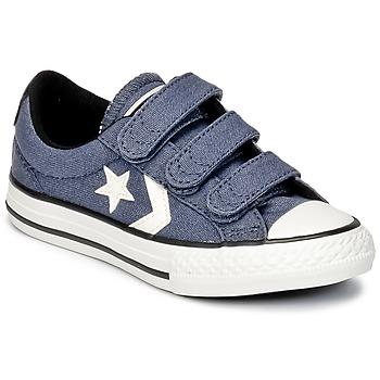 鞋子 男孩 球鞋基本款 匡威 STAR PLAYER 3V VINTAGE CANVAS OX 蓝色 / 白色