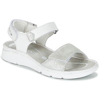 鞋子 女士 凉鞋 Allrounder by Mephisto TABASA 白色 / 银灰色