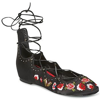 鞋子 女士 平底鞋 Ash 艾熙 INDRA 黑色