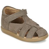 鞋子 男孩 凉鞋 SHOO POM by Pom d'Api PIKA BOY 灰褐色