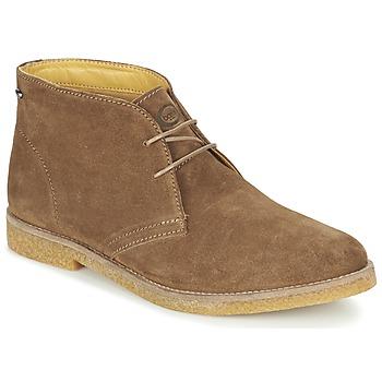 鞋子 男士 短筒靴 Base London CHARLTON 棕色