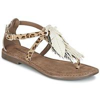 鞋子 女士 凉鞋 Metamorf'Ose ZABOUCHE 棕色 / 白色