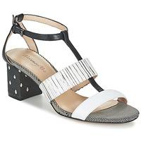 鞋子 女士 凉鞋 Metamorf'Ose ZAFNOLO 黑色 / 白色