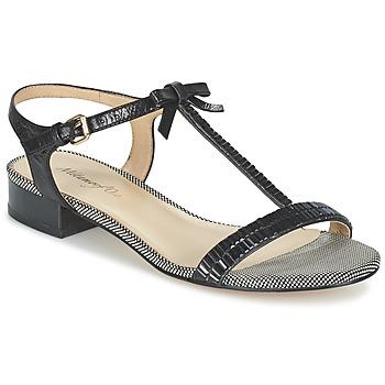 鞋子 女士 凉鞋 Metamorf'Ose ZAFOIN 黑色