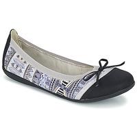 鞋子 女士 平底鞋 Les P'tites Bombes CAPRICE 灰色 / 黑色