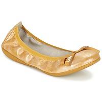 鞋子 女士 平底鞋 Les P'tites Bombes ELLA 黄色