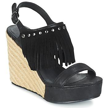 鞋子 女士 凉鞋 Les P'tites Bombes SABINE 黑色