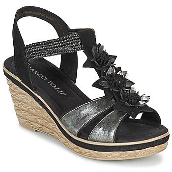 鞋子 女士 凉鞋 Marco Tozzi CHAVELA 黑色