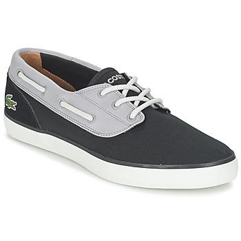 鞋子 男士 船鞋 Lacoste JOUER DECK 117 1 黑色