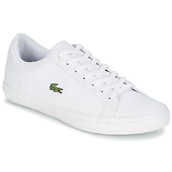 鞋子 男士 球鞋基本款 Lacoste LEROND BL 2 白色