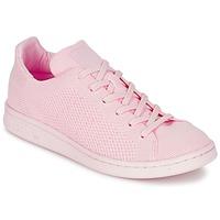 鞋子 女士 球鞋基本款 阿迪达斯三叶草 STAN SMITH PK 玫瑰色