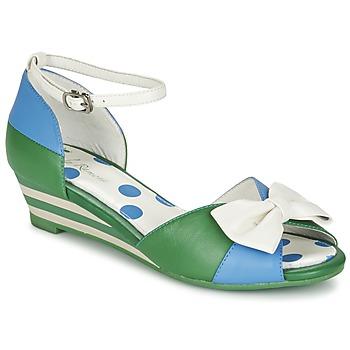 鞋子 女士 凉鞋 Lola Ramona LENNIE 蓝色 / 绿色