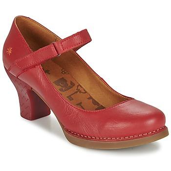 鞋子 女士 高跟鞋 Art HARLEM  胭脂紅