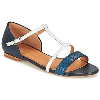 鞋子 女士 凉鞋 Emma Go KEIRA 海蓝色 / 白色