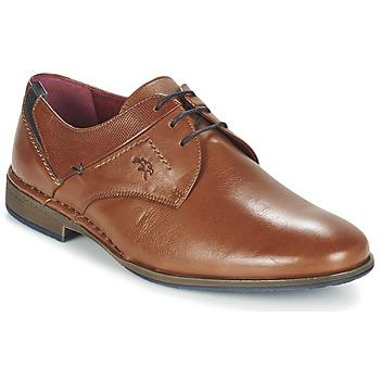 鞋子 男士 德比 Fluchos 富乐驰 ALONSO 棕色