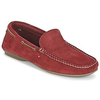 鞋子 男士 皮便鞋 Fluchos 富乐驰 LEX 红色