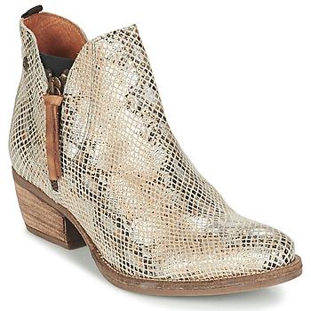 鞋子 女士 短筒靴 Coqueterra LIZZY 米色 / 蛇纹