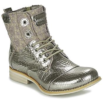 鞋子 女士 短筒靴 Bunker SARA 银灰色