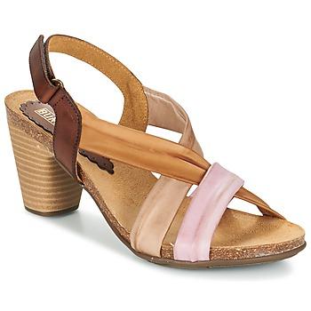 鞋子 女士 凉鞋 Bunker LIZ 棕色 / 玫瑰色