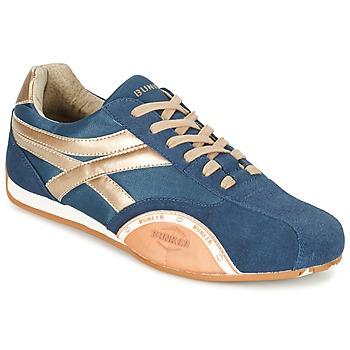 鞋子 男士 球鞋基本款 Bunker LEMANS 海蓝色 / 金色 / 橙色