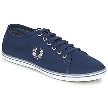 鞋子 男士 球鞋基本款 Fred Perry KINGSTON TWILL 海蓝色