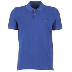 衣服 男士 短袖保罗衫 Benetton FOBIKA 蓝色