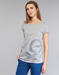 衣服 女士 短袖体恤 Benetton MADOUL 灰色
