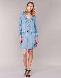 衣服 女士 短裙 Benetton AFIDOUL 蓝色