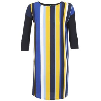 衣服 女士 短裙 Benetton VAGODA 蓝色 / 黄色 / 白色