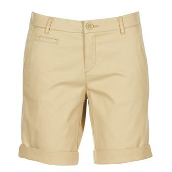 衣服 女士 短裤&百慕大短裤 Benetton JAVIN 米色