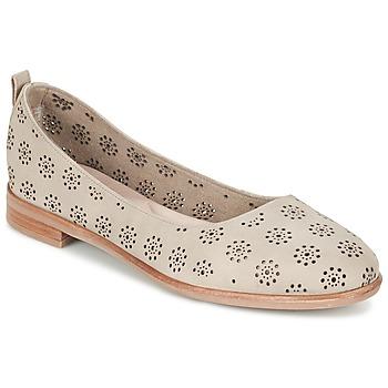 鞋子 女士 平底鞋 Clarks 其乐 ALANIA ROSA 米色