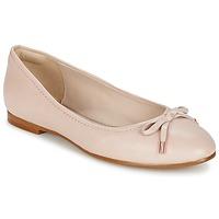 鞋子 女士 平底鞋 Clarks 其乐 GRACE LILY 玫瑰色