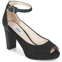 鞋子 女士 凉鞋 Clarks 其乐 KENDRA ELLA 黑色