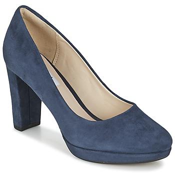 鞋子 女士 高跟鞋 Clarks 其乐 KENDRA SIENNA 蓝色